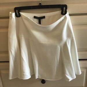 BCBG white skirt